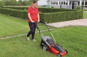 Corded Self Propelled Lawn Mower